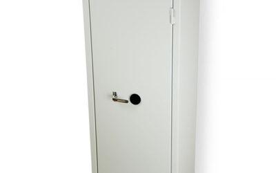 Nyckelskåp KVS 2000S med delat utrymme och vikskärmar