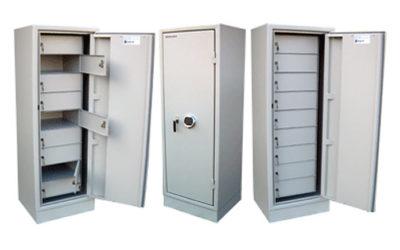 Säkerhetsskåp KVS 2000S med insatsmodul